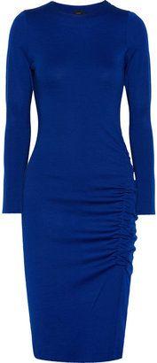 ShopStyle: Joseph Wool-jersey dress