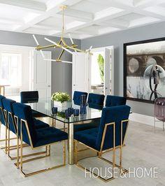 Marvelous Home Design Architectural Drawing Ideas. Spectacular Home Design Architectural Drawing Ideas. Luxury Dining Room, Dining Room Design, Mid Century Modern Interiors, Dining Suites, Luxury Interior, Master Bedrooms Decor, Interior Design, House Interior, Room Interior