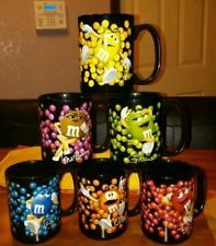 NEW M&Ms Character Candy Mugs Includes All Six Mugs Adorable
