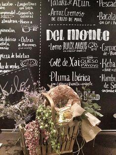REFORMAS DE DISEÑO restaurante kilo barcelona pizarra