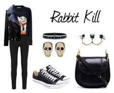 """""""Rabbit Kill"""" by anaelle2 ❤ liked on Polyvore featuring Joseph, J.W. Anderson, Converse, La Bête, Chloé, Givenchy and Hermès"""