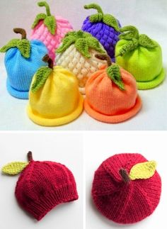Caps for Babies Free Knitting Pattern (Beautiful Skills Crochet Knitting Quilt. - Caps for Babies Free Knitting Pattern (Beautiful Skills Crochet Knitting Quilting) - Baby Hat Knitting Patterns Free, Baby Hats Knitting, Easy Knitting, Baby Patterns, Knit Patterns, Knitted Hats, Free Pattern, Finger Knitting, Pattern Sewing
