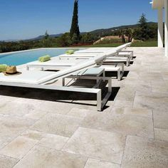 The look of Travertine without the hassles. Porcelain floor tiles that look like real stone. From Kalafrana Ceramics Sydney Tile Showroom.
