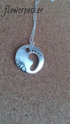 Midwife jewelry Midwife Pendant New Mom Gift by flowerpecker
