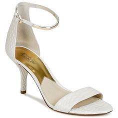 Sandale MICHAEL Michael Kors KRISTEN Blanc prix promo Sandales Spartoo 149.00 €
