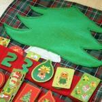 Make a Placemat Advent Calendar