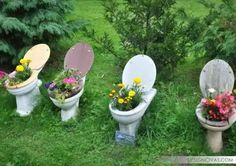 30+ brilliant ideas to reuse old toilet bowls