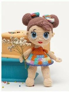 In this article we will share the amigurumi lol baby doll free crochet pattern. Amigurumi related to everything you can not find and share with you. Crochet Dolls Free Patterns, Crochet Doll Pattern, Doll Patterns, Knitting Patterns, Crochet Patterns Amigurumi, Amigurumi Doll, Crochet For Kids, Free Crochet, Disney Princess Babies