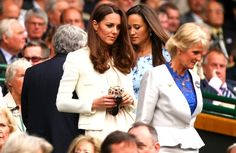 Pin for Later: Every Outfit Kate Middleton Has Ever Worn to Wimbledon 2012