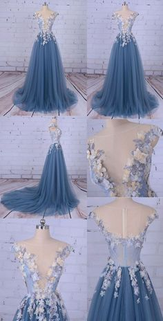 Prom Dress,sexy Prom Dresses,Long Party Prom Dress,beaded Prom Dress,ball gown blue lace Prom · BanquetGowns · Online Store Powered by Storenvy Prom Dresses Ball Gown Blue, Blue Lace Prom Dress, Beaded Prom Dress, Prom Party Dresses, Ball Gowns, Evening Dresses, Wedding Dresses, Wedding Lace, Blue Gown