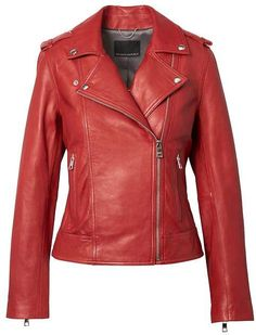 a93ad3a18 Banana Republic Classic Leather Moto Jacket Listo Para Usar, Chaquetas  Cortas, Chaqueta De Cuero