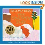 WORDLESS. It is a story of a little boy's day out in the snow and how he played and ventured through the city. This could be a good book to use in the winter when talking about weather and the snow.