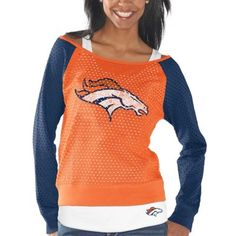Denver Broncos Womens Orange/Navy Blue Holy Long Sleeve T-Shirt and Tank Top #broncos #gifts #denverbroncos