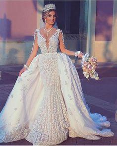 Dress by @mayadasahmarani.hautecouture photo @saidmhamadphotography . . . For wedding inspiration follow  @WeddingDress_Bride❤️ @Wedding_BridetoBride❤️ @BridetoBride❤️ .. . . . . . . . #weddingdress #dreamwedding #weddingday #fairytalewedding #weddingplanning #weddinginspiration #weddingdecor #luxurywedding #bridetobe #engaged #weddiginspiration  #proposal #weddingproposal #honeymoon #dreamhoneymoon #weddinginspo #bridesmaidsgoals #luxury #weddinggoals #bridetobe #casamentodeluxo #noivado…