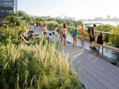The High Line- not sure if you guys did this last time, but you have to visit the High Line while there