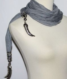 Punk Women Gothic Leather Choker Heart Chain Spike Rivet Buckle Collar Neckl  YF