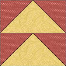 """Patch-blocs... """"Goose-Chase""""  --Block of the Day - Block of the Day Archive"""