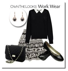 """""""Work Outfit"""" by mozeemo ❤ liked on Polyvore featuring Alexander McQueen and Essentiel"""