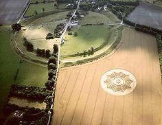 Avebury Circle & Crop Circle