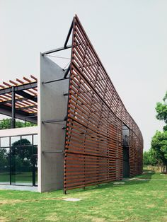 Visitor Center in Lake Yangcheng Park / Miao Design Studio
