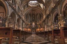 The Monastery of Montserrat, Spain