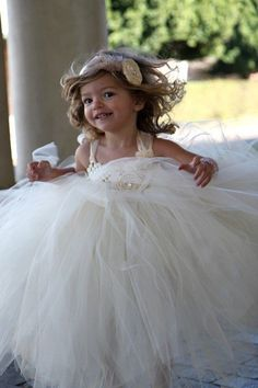 $115 High Society  Shimmering Tutu Dress AND headband set by Nmoledo