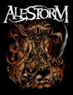 ALESTORM - We Are Here To Drink - COVER / Patch