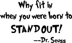 Stand Out!!
