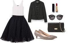 Acabamos las propuestas con la más atrevida de todas: una falda de tul y una chaqueta de aire militar os atrevéis?  #look #lookbook #ootd #tdsmoda #fashion #style #moda #modadesevilla #instablogger #instafashion #fashionblogger #blogger #igersmoda