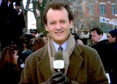 Bill Murray Groundhog Day | ... con tus amigos de Phil o de Bill Murray, debes de ver la película