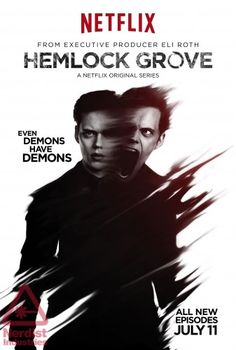 Hemlock Grove Season 2, enjoyed but how does it manage to be totally predictable one minute and weird me out completely the next?