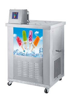 Free shipping to Malaysia Commercial Ice popsicle maker Stainless Steel  Lolly Machine  220v capacity about 8000~10000pcs/day
