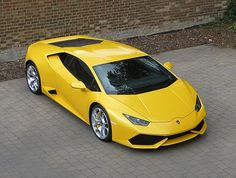 Lamborghini Huracán LP610-4 - Yellow Car