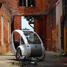 WELCOME TO ORGANIC TRANSIT. The ELF is a solar and pedal Powered Electric Vehicles From Organic Transit. The most efficient vehicle on the planet - 1800 MPG