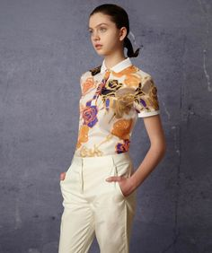 Fred Perry Laurel Wreath | Printed Shirt