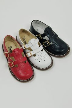 My favorite shoes as a little girl were a red pair of these.