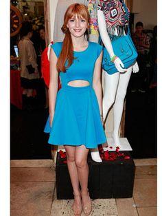 Love Bella's cutout dress!