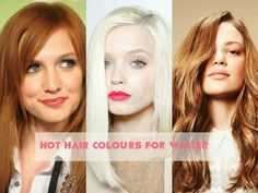 Hairstyle Trends You Can Try This Winter: Hot Hair Colours
