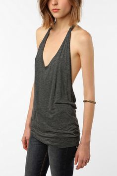 open back halter - if this summer is like last summer, this will be all i can stand to wear