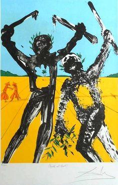 Salvador Dali, Peace in Vietnam, peace at last