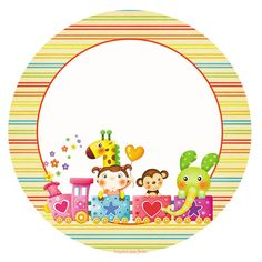 Dias das crianças – Kit digital gratuito – Inspire sua Festa ® Christmas Frames, Kids And Parenting, Safari, Creations, Scrap, Banner, Tableware, Blog, Card Tags