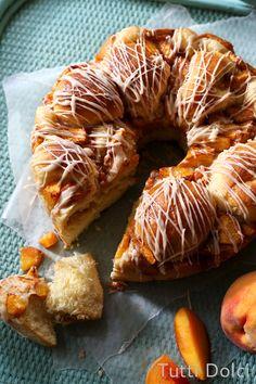 Peach Pull-Apart Bread   Tutti Dolci