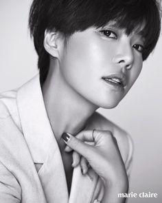 May, 2016 Marie claire korea mag Hwang jung eum