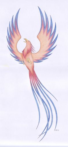 Phoenix tattoo by Fires-At-Midnight.deviantart.com on @deviantART