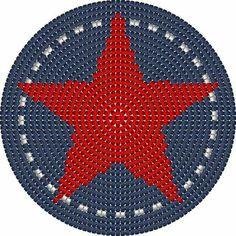 Wayuu Mochila bottom Tapestry Crochet Patterns, Crochet Mandala Pattern, Crochet Motifs, Crochet Cross, Crochet Chart, Crochet Home, Knit Crochet, Boho Tapestry, Tapestry Bag