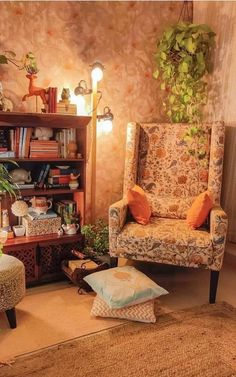 Bohemian Apartment, Reading Nook, Bohemian Decor, Cozy, Bedroom, Interior, Room Corner, Furniture, Accent Chairs For Living Room