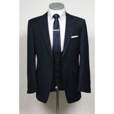 Light weight navy slim fit lounge suit made to measure wedding