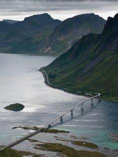 grim bernhoft | Keppstadsheia, Lofoten Islands | Norway (by Henrik ... | islands