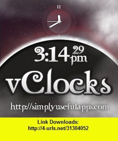 V Clocks Multi Mode World Clock for Twilight Fans, iphone, ipad, ipod touch, itouch, itunes, appstore, torrent, downloads, rapidshare, megaupload, fileserve