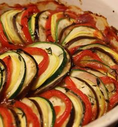ratatouille – A Quiet Existence Paleo Recipes, Cooking Recipes, Smitten Kitchen, Meatless Monday, How To Cook Pasta, Healthy Snacks, Veggies, Yummy Food, Food And Drink